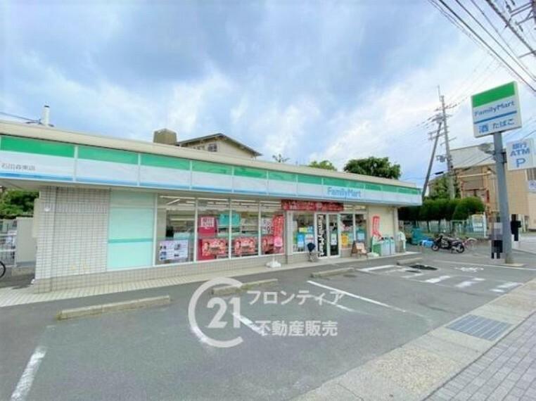 コンビニ ファミリーマート 石田森東店