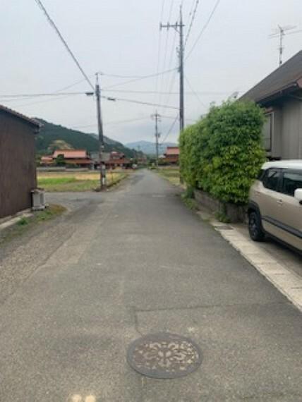 現況写真 前面道路です