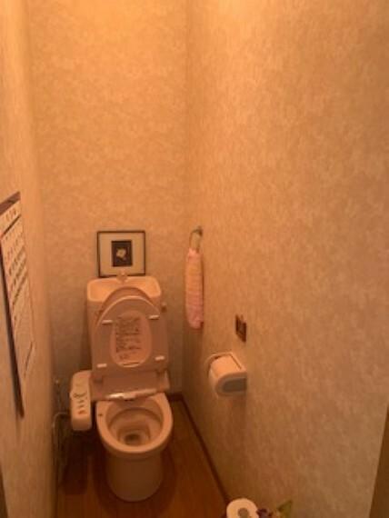 トイレ トイレもきれいです