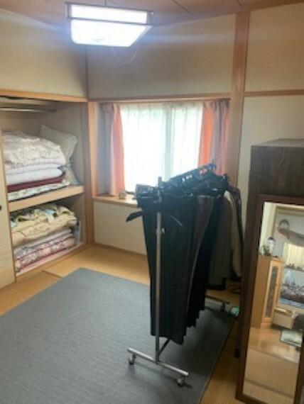 和室 1階和室は収納もしっかり