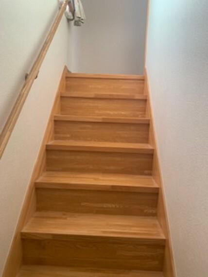 階段もゆったりしています