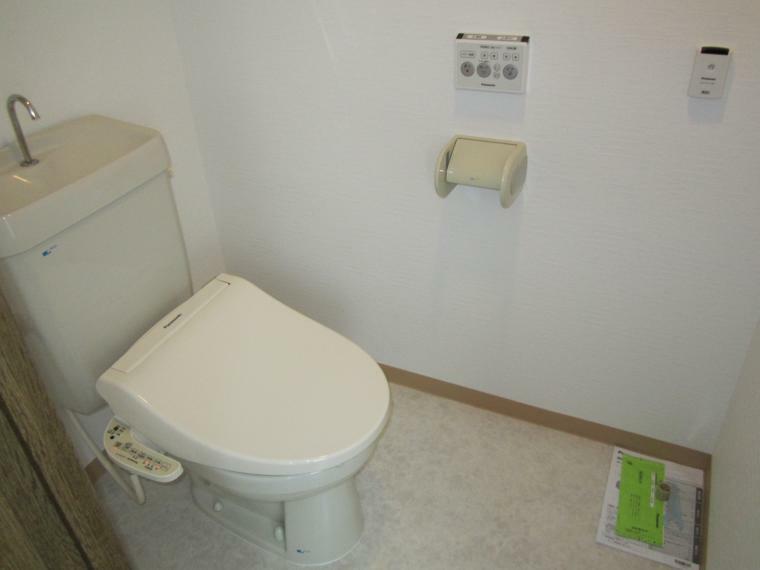 トイレ ●温水洗浄便座(自動開閉機能付き)交換済み!