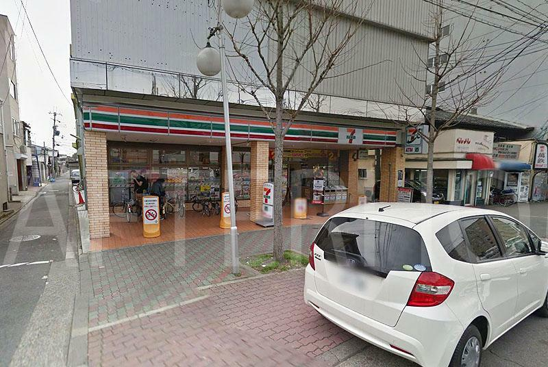 コンビニ セブンイレブン京都大石橋店