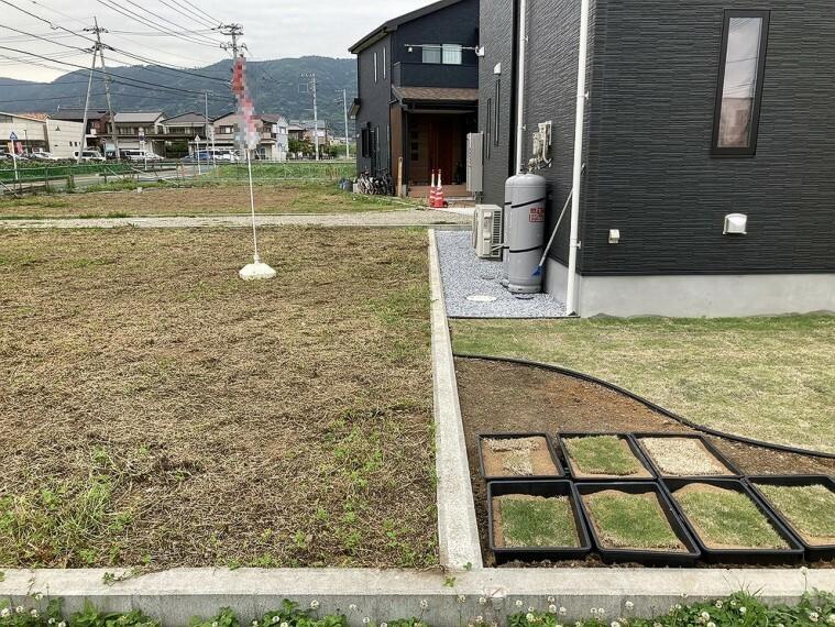 現況写真 敷地内にカースペースを設けてもいいですね