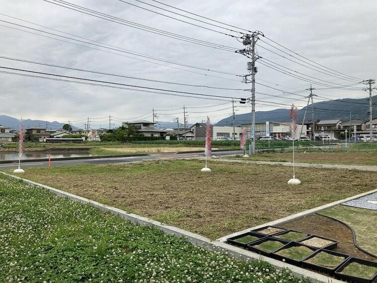 現況写真 分譲地につき整った町並みが形成されます。