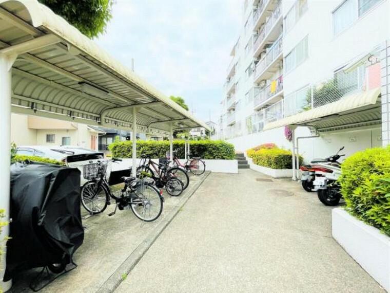 敷地内 自転車・バイク置場