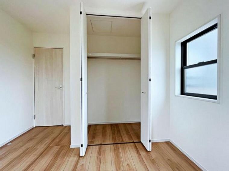 収納 各居室収納スペース