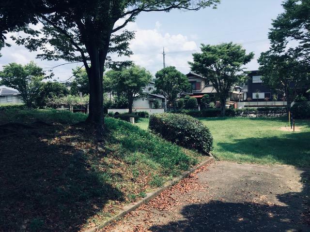 公園 南側の公園
