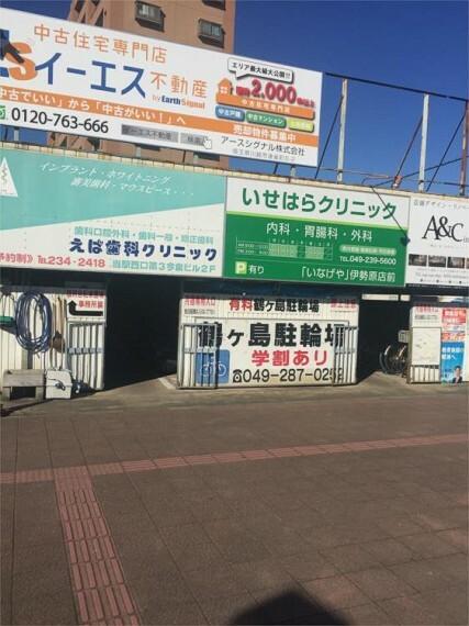 鶴ヶ島駐輪場
