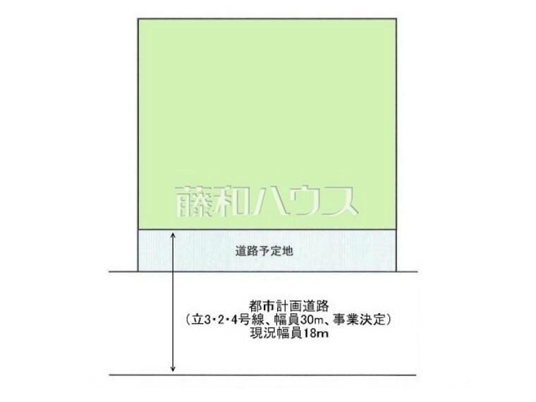 区画図 区画図 【武蔵村山市神明1丁目】