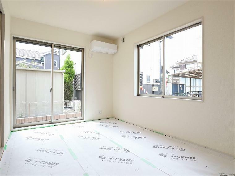 和室 【1号棟】洋風和室6帖