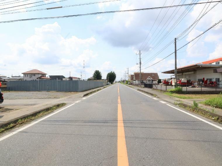 現況写真 【前面道路】西側幅員約14.0m公道
