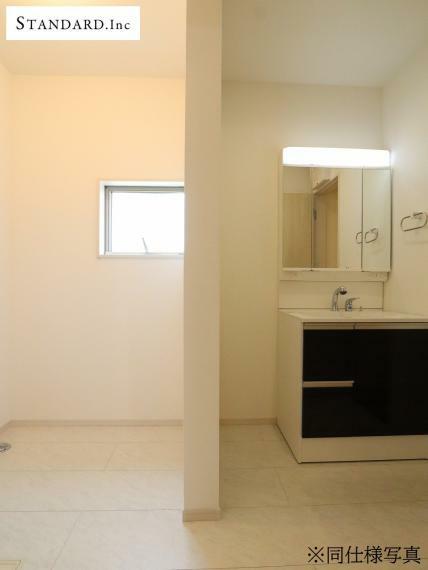 脱衣場 【同仕様写真】洗面室・床下収納