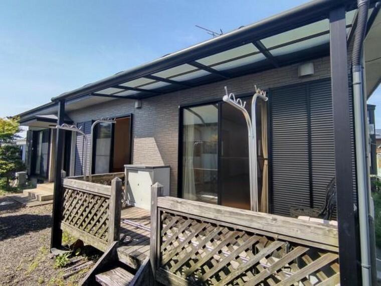 外観写真 これから屋根塗装及び水回りの新品交換を行います。南向きで明るいお家です。