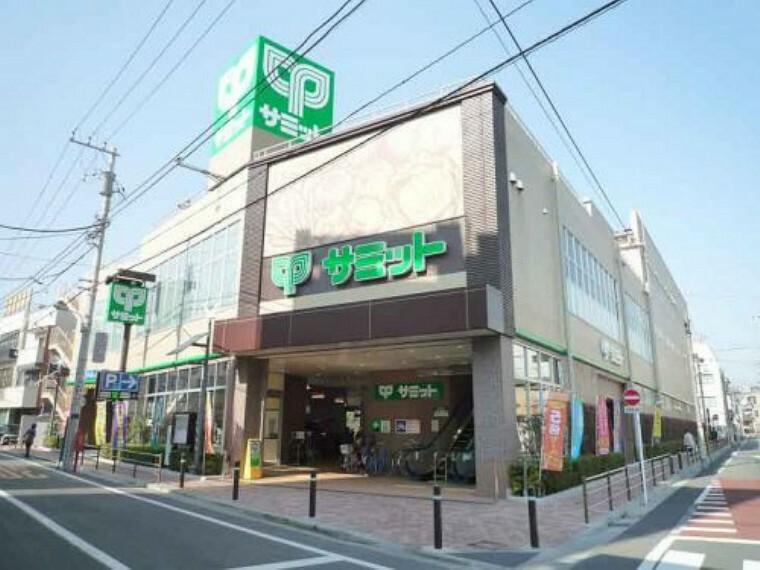 スーパー 【スーパー】サミットストア荏原4丁目店まで245m