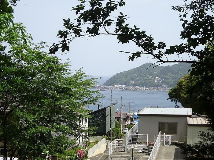 海を望みます 長浜海浜公園まで