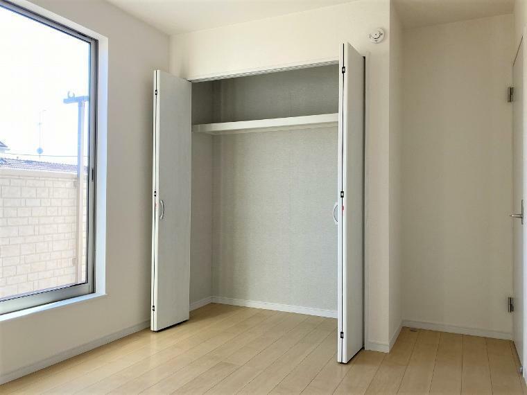 収納 【1号棟】2階洋室6.0帖クローゼット