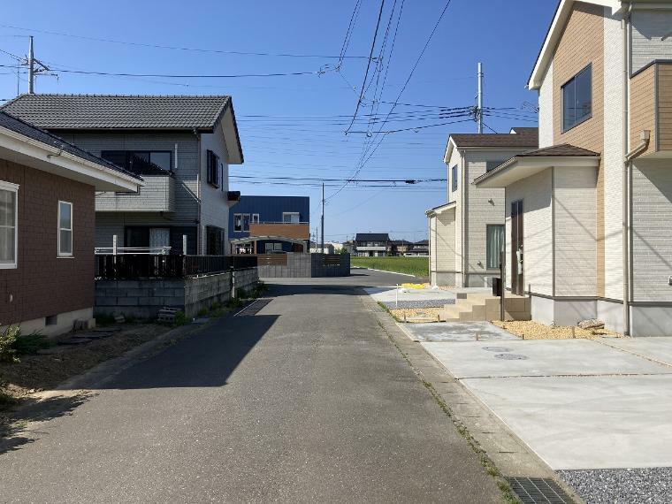 現況外観写真 【前面道路】西側幅員5.0m公道