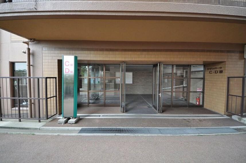 エントランスホール C棟D棟マンション入り口