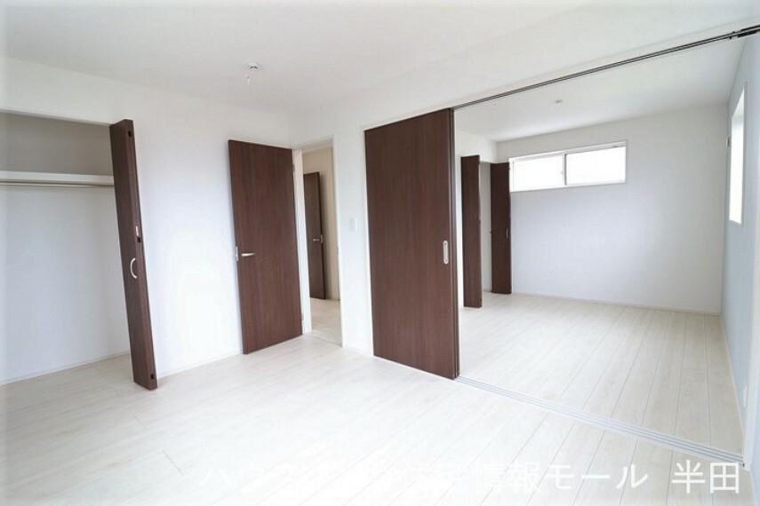 子供部屋 2階北側2部屋は生活スタイルに合わせて使い分けられる居室ですね。