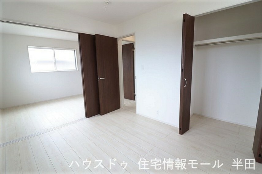 子供部屋 2階の北側2部屋はお子様の成長に合わせて使い分けられるこだわりの設計