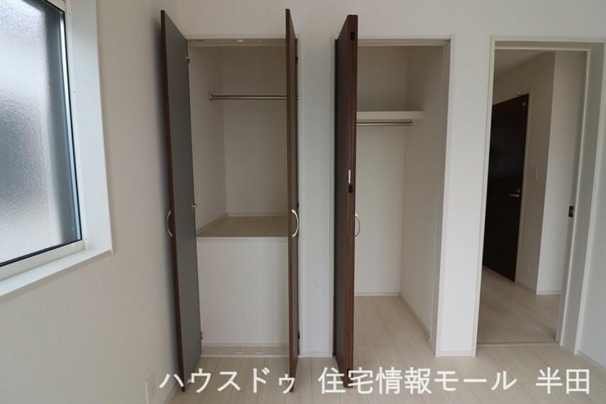 収納 ~全居室収納付 すっきり片付く住空間~