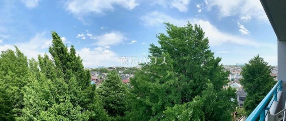 外観・現況 住戸からの眺望写真 【クラルテ武蔵野】