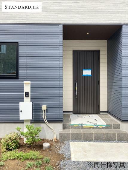 同仕様写真(内観) 【同仕様写真】TVモニター付きインターホン・ポスト・散水栓