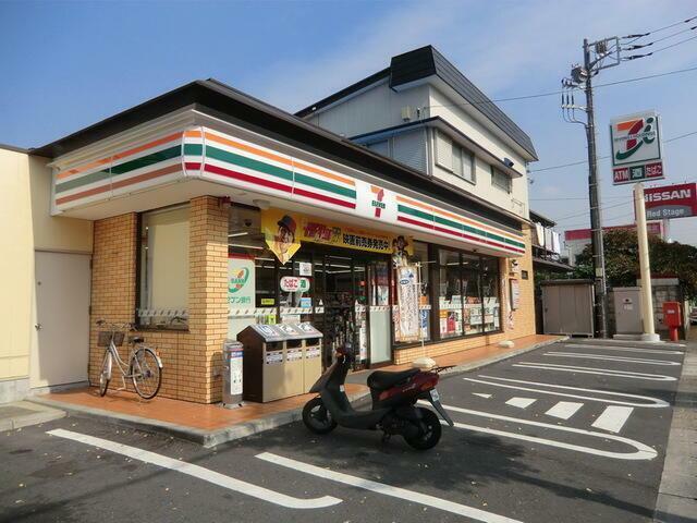 コンビニ セブンイレブン松戸南花島店