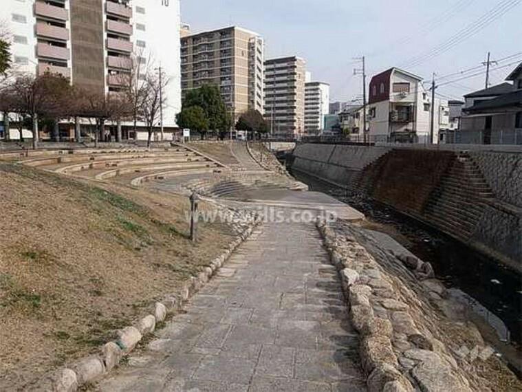 公園 東川親水南公園の外観