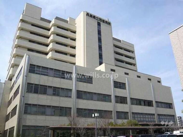 病院 兵庫県立西宮病院の外観