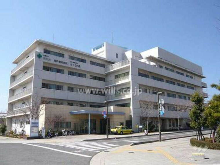 病院 医療法人昭圭会 南芦屋浜病院の外観