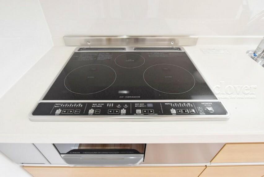 キッチン IHコンロ 魚焼きグリル
