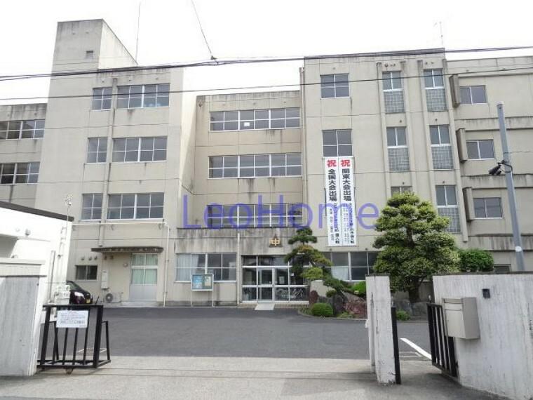 中学校 【中学校】高崎市立新町中学校まで1895m