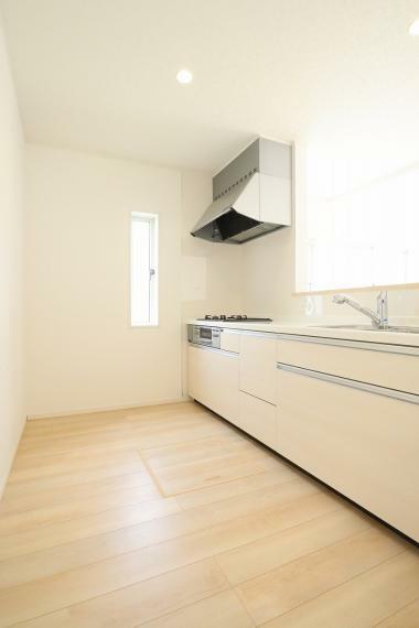 キッチン 【1号棟】システムキッチン・浄水器一体型ハンドシャワー水栓・床下収納