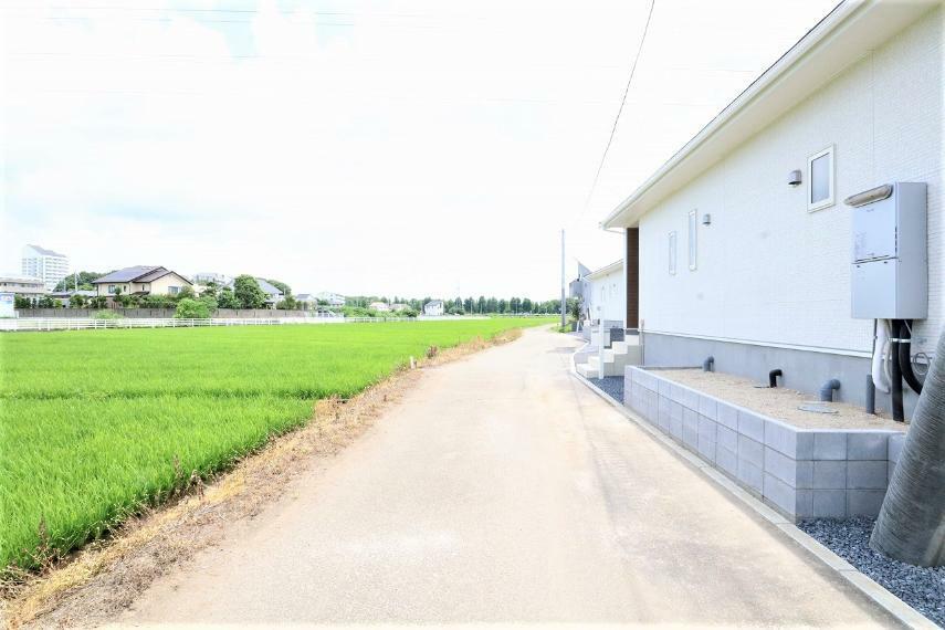 現況写真 【前面道路】北側幅員約4m公道