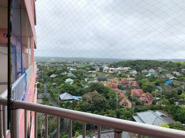 眺望 バルコニーから海側の景色