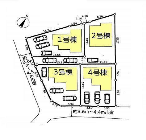 区画図:4号棟