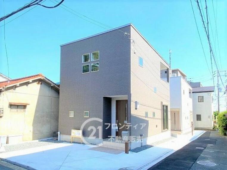 現況外観写真 2階建て一戸建て住宅です