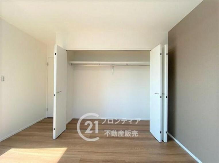 収納 各室、収納があるので荷物が多くても安心ですね!