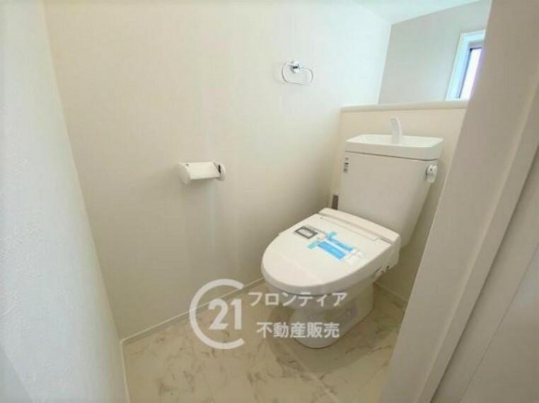 トイレ トイレ空間も広々と使えます