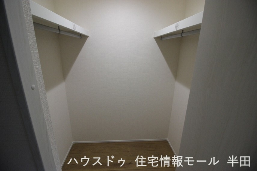 ウォークインクローゼット  木造 サイディング張(2階建)