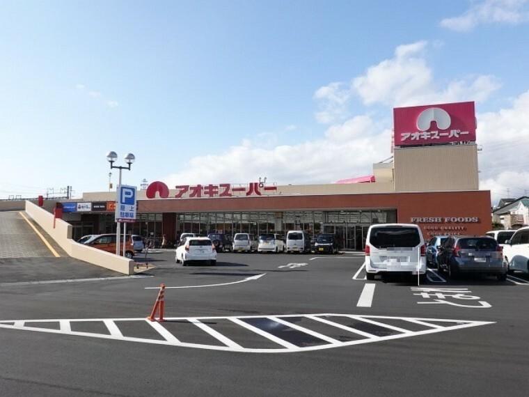 スーパー 「アオキスーパー西枇杷島店」 営業時間/10:00~20:00 駐車場は平面と立体があり、お車でのお買い物も安心。またJR駅からも近くお仕事帰りにお買い物を楽しめます。
