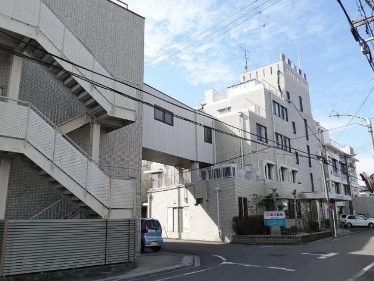 病院 「新川病院」 介護が必要な方にまごころを持って向き合ってくれる病院。療養病棟41室、100床あります。