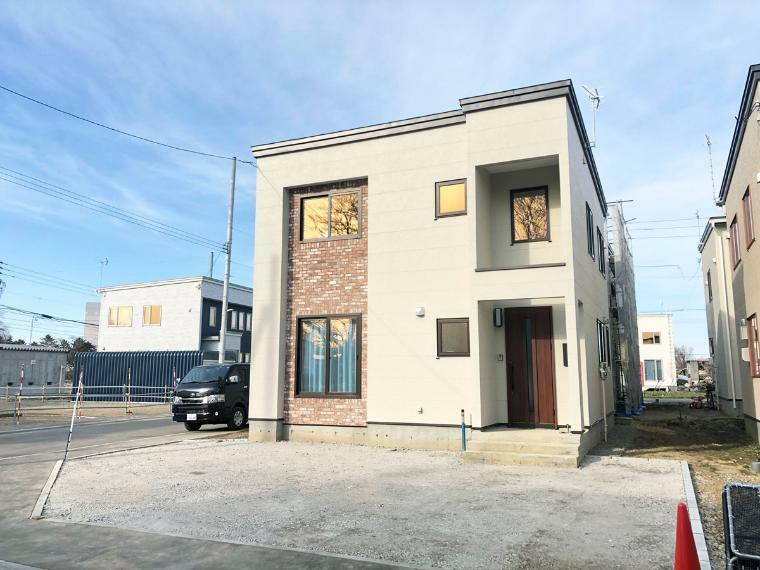 現況写真 グリーンタウン東茨戸第1期分譲にてモデルハウス『ルクセンブルク~ワークスペースのある家』公開中!