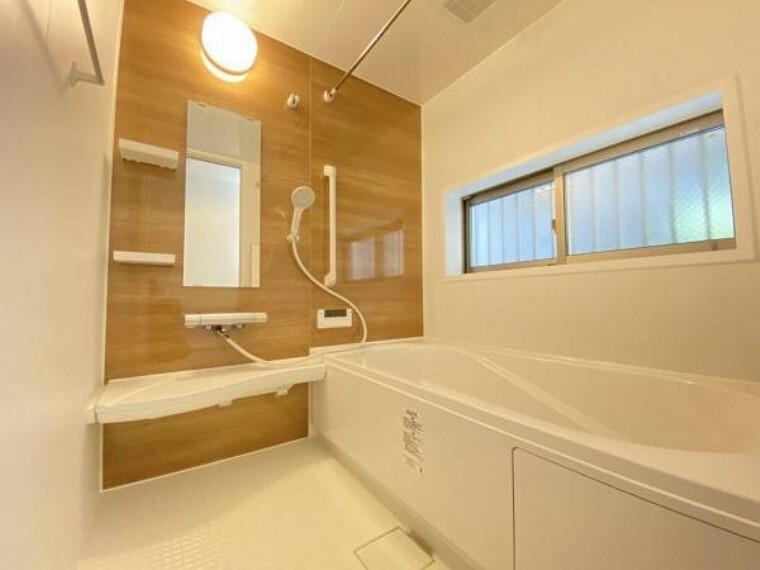 浴室 一日の疲れを落とす場所としてリラックスできる空間。