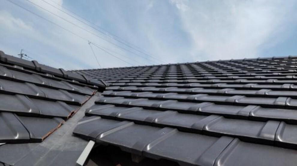 構造・工法・仕様 【リフォーム済】屋根は葺き替え工事を行いました。雨漏りの心配もありません。