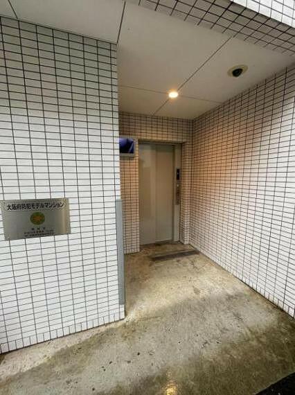 駐輪場専用エレベーター