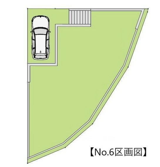 区画図 区画図(6号地)