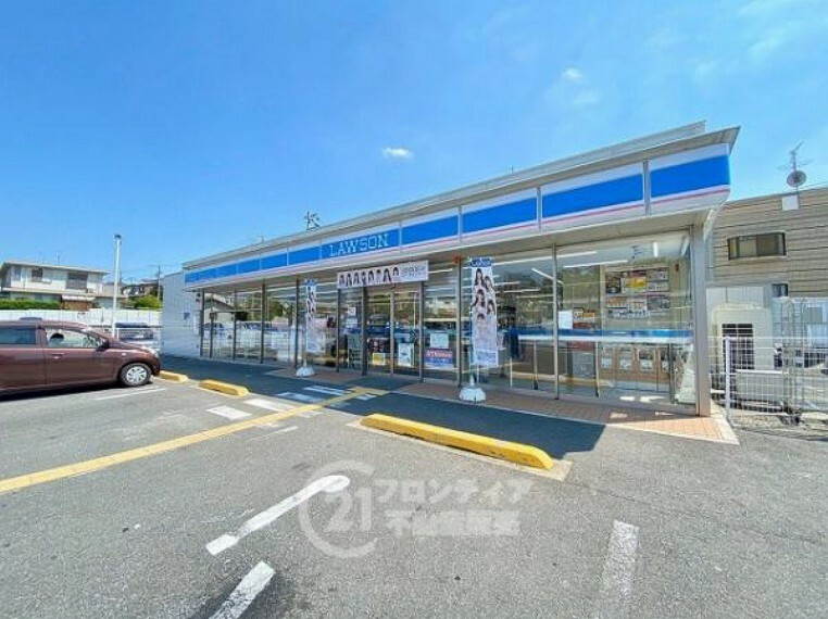 コンビニ ローソン学研北生駒駅前店